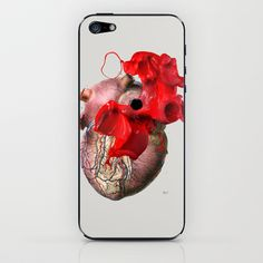 Broken Heart - Fig. 2 iPhone & iPod Skin by Michele Lenarduzzi - $15.00