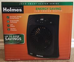 Holmes Fan Forced Heater Energy Saving HEH8044EE #Holmes