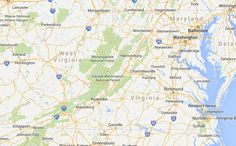 Virginia Fall Map - Virginia Is For Lovers