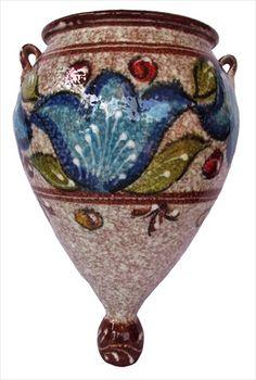 Spanish orza - wall hangin flower pot