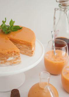Crepe cake Thai