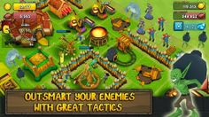 Greed for Glory  Greed for Glory is a strategy Game launched by PerBlue. In this basically you have to start with a small village and after playing tactfully you'll be able to create new town. You also need to attack the nearby villages to conquer them. You can also play this game online and an get thier help also. Download this game for free from Google Play Store