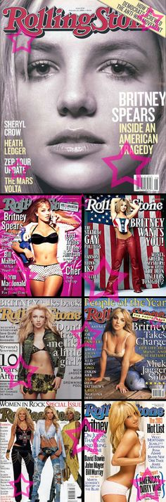 Rolling Stone Covers (February 21, 2008, April 15, 1999, May 25, 2000, September 13, 2001, December 06, 2001, October 31, 2002, October 02, 2003)