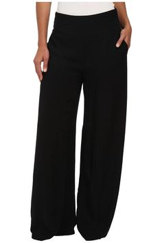 Constructed in rayon challis, this comfortable wide leg pant gives instant style! Smocked, stretch waistband with contoured front panel and dual hand pockets. Tuck in a blouse or wear a crop top and wedges and you're ready to hit the town, totally on trend!   Kato Flare Pants by Jack by BB Dakota. Clothing - Bottoms - Pants & Leggings - Straight Clothing - Bottoms - Pants & Leggings - Flare & Wide Leg North Carolina
