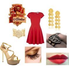 gryffindor-- Harry Potter outfit
