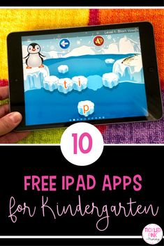 Find 10 free iPad apps to use with your Kindergarten students. This list includes literacy and math apps that can be great independent practice or for centers.