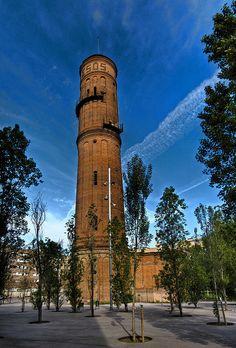 Torre de les Aigües del Besòs, Barcelona (E) | Flickr: Intercambio de fotos