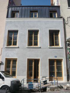 Rotterdam, Zinc Roof, Metal Cladding, Attic Window, Attic Apartment, Bathroom Interior, Rooftop, Architecture Design, Brick