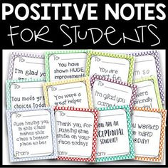 How To Produce Elementary School Much More Enjoyment Positive Notes For Students Freebie First Grade Classroom, School Classroom, Positive Notes Home, Positive Feedback, Positive Vibes, Classroom Behavior Management, Behavior Incentives, Bon Point, Teacher Notes