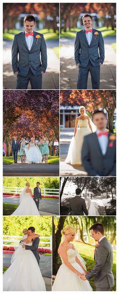 First Look | Portland wedding photography | Langdon Farms Wedding Photos | Portland Wedding Photographers | TAustin Photography | www.TAustinPhotography.com