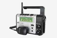 pThe Base Camp Radio combines the emergency power of a Dynamo Crank with GMRS 2 way radio technology. The is ideal for hiking or camping enthusiasts as an essential precautionary tool for any emergency situation. Compatible with other FRSGMRS radios. Camping Survival, Survival Prepping, Emergency Preparedness, Survival Skills, Survival Gear, Emergency Planning, Survival Stuff, Emergency Kits, Emergency Supplies