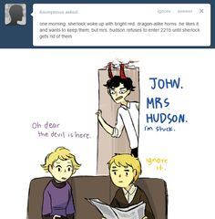 An Ask BBC Sherlock thing - Let's be real, Sherlock is already freaking 6 feet tall.