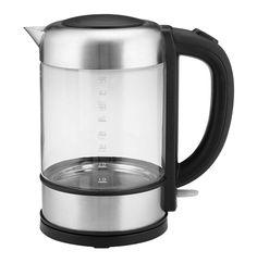SWAN Glass Kettle | Makro Online Kettle, Swan, Kitchen Appliances, Flooring, Glass, Diy Kitchen Appliances, Tea Pot, Swans, Home Appliances