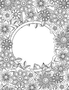 70+ Printable Mindfulness Colouring Pages For Adults & Kids