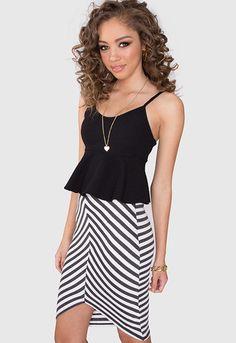 Lea Chevron Skirt