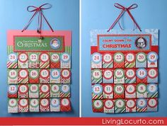 Printable Advent Calendar and Activities | AllFreeChristmasCrafts.com