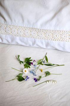 Sieben verschiedene Blumen unter das Kopfkissen legen , und dann träumen die…