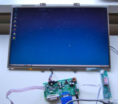 """This is a question we hear a lot: """"I have a spare LCD panel; what else do I need to make a monitor?"""" This Chinese eBay seller has the cheapest out-of-the-box solution I've seen..."""