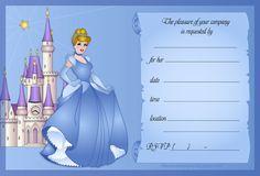 Free Disney Princess Invitations