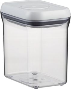 Oxo® Pop Rectangular 1.5qt Container with Lid    Crate and Barrel