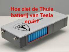 Tesla wil dit jaar nog een batterij op de markt brengen waardoor je onafhankelijk kan worden van je energiemaatschappij. Met de thuisbatterij kan je de opgewekte energie van zonnepanelen en/of windmolen opslaan. Je hoeft dus niet te salderen, je bent geen ondernemer meer, je hoeft je niet druk te maken over een slimme meter, ook bij stroomuitval zit je goed. De stroom valt bij iedereen uit behalve bij jou, dankzij de thuisbatterij. Meer informatie schijnt te komen op 30 april. Spannend