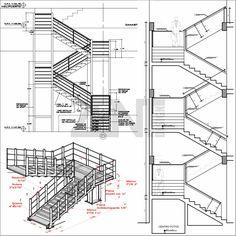 M s de 1000 ideas sobre escaleras metalicas en pinterest for Escaleras metalicas planos