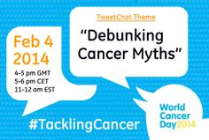 Join the #TacklingCancer Tweetchat on #WorldCancerDay and Help Debunk Common Cancer Myths - GE Healthcare News