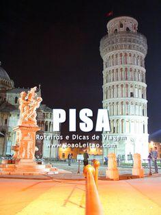PISA Itália: Guia de roteiros, Dicas de viagem, O que visitar, Monumentos, Alojamento, Transportes, Mapas, Fotos para visitar Pisa cidade.