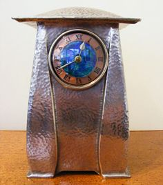 Liberty & Co.  Pewter Clock by Archibald Knox, circa 1900