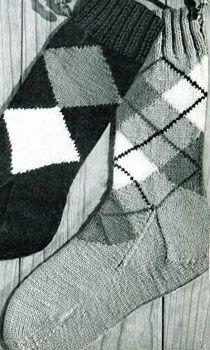 Argyle Socks Patterns