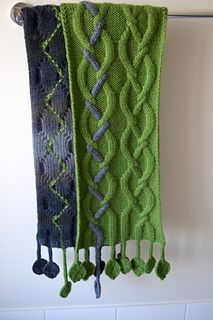 I generally don't like knitting scarves, but I may need to make an exception. This is an extraordinary design - the Tendril Scarf - free until January 15, 2015.