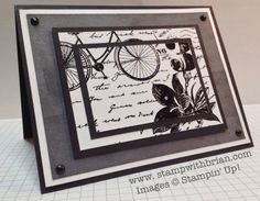 Postage Due, Stampin Up!, Brian King  Go to Brian's May 8, 2013 blog to see directions
