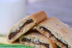 Homemade fig newtons! Gluten free and vegan instructions included.