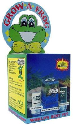 Three Rivers Amphibian Grow-A-Frog Kit $29.95