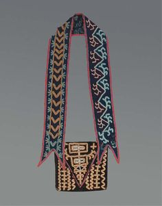Creek bandolier bag, ca 1835 http://www.christies.com/LotFinder/lot_details.aspx?intObjectID=4425909