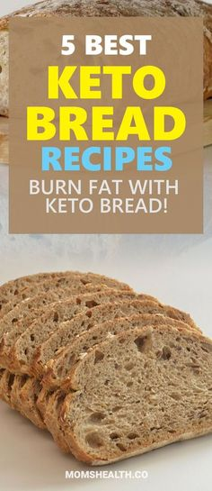 Try these best Keto bread recipes to keep your Ketosis and eat products you are used to. These easy and quick low carb bread recipes are ideal for Ketogenic diet and will help you stay in Ketosis without restricting your favorite food. #keto #lowcarb