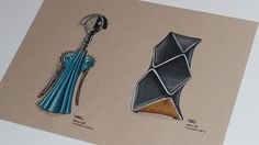 A look at some product illustrations I've done on toned paper with marker. For more make sure to check out my Instagram! @abidurchowdhury student at Loughborough University.