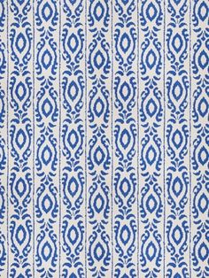 DecoratorsBest - Detail1 - Stroheim 4703801 - MADAGASCAR - Cobalt - Fabrics - DecoratorsBest