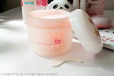 Lovely Cleansing Sorbet review #lalaglobal #cleanser #makeup #koreancosmetics #beauty #facecare #makeupremover