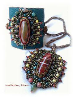 InKetten - bead embroidery