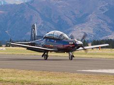 Hawker Beechcraft T-6 Texan II at Warbirds Over Wanaka  Type: Raytheon 3000 Registration: N3000B Location: Wanaka Airport Date: 08/04/2012