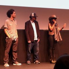 Producers and actress from the film Gimme Loot. They won outstanding narrative at #SXSW!