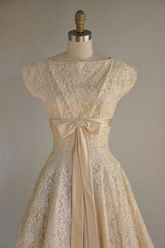 vintage 1950s dress   Designer: Gigi Young   385 bucks from SIB Vintage {Simplicity Is Bliss} - www.etsy.com/...