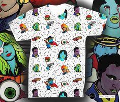 New Collection inspired in #quentintarantino movies by @ameandjakk  and #jossart #tshirtdesign #coolprints ➖➖➖➖➖➖➖➖➖➖➖➖➖➖ Nueva coleccion inspirada en quentin #tarantino por Ame and jakk #alianzascreativas #barcelona #popart #artepop #movies (en...