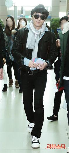Seungri ♡ #BIGBANG - AIRPORT FASHION