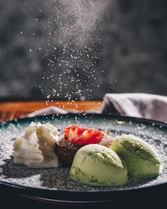 Food photography inspo by Restaurant, Food Photography, Dessert Recipes, Ethnic Recipes, Inspiration, Pictures, Professional Photography, Dessert Food, Food Food