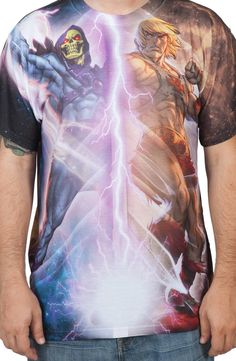 Lightning Masters Of The Universe Shirt