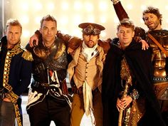 All of Take That in this picture...and the video for Kidz.