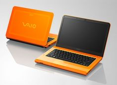 Sony VAIO VPCCA15FG... in tangerine (the 2012 Pantone color of the year)!