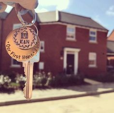 Your place to buy and sell all things handmade First Home Key, Buying First Home, First Home Pictures, Moving House Tips, New House Announcement, Buy My House, Moving In Together, New Home Gifts, My First Apartment